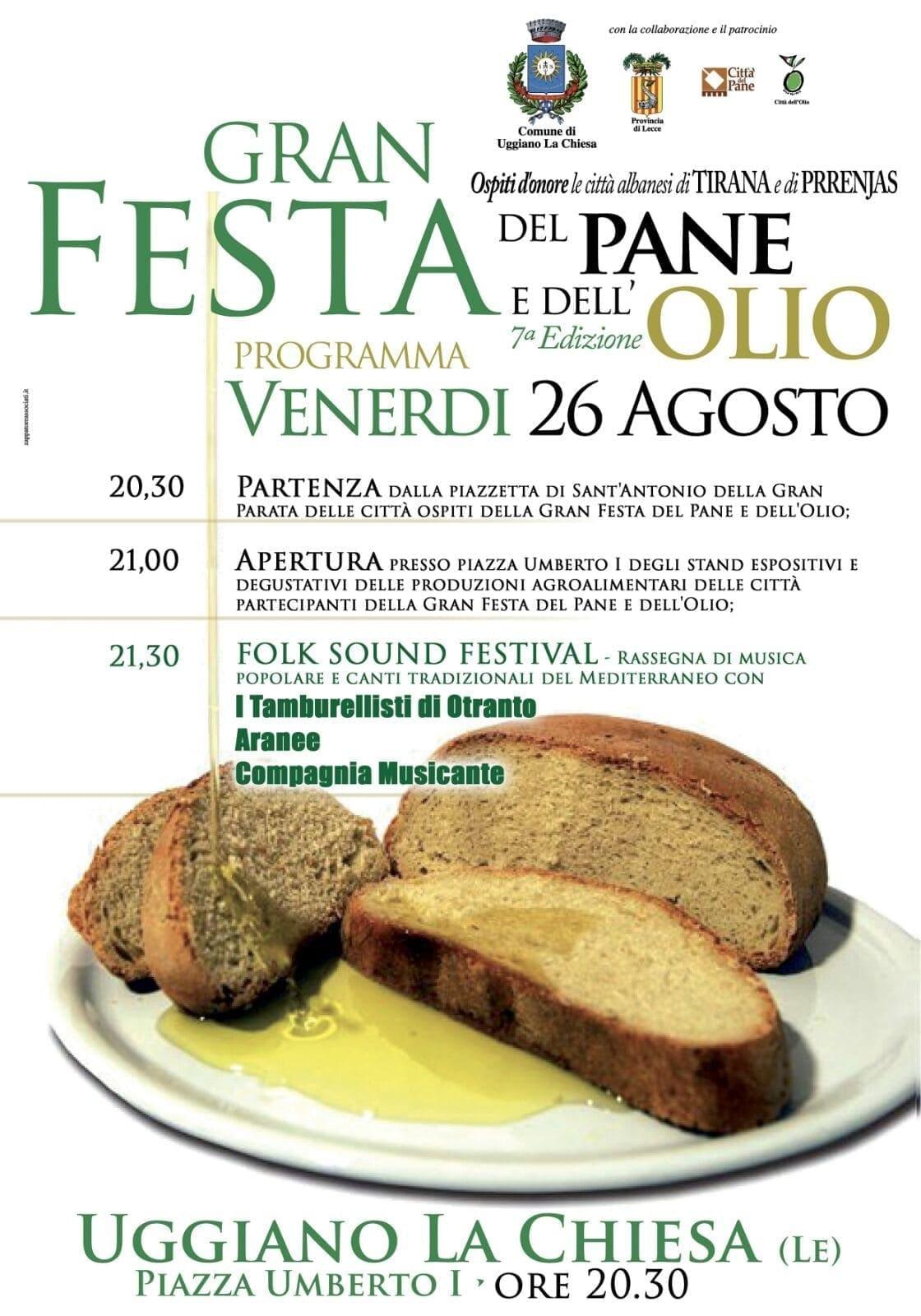 Gran Festa del pane e dell'olio