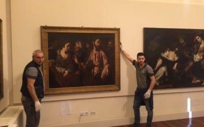 """Il """"Cristo e l'adultera"""", dal Museo Castromediano a Palazzo Braschi a Roma"""