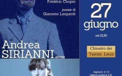 """Lecce. Ritorna Must in Song con """"E il naufragar m'è dolce"""""""