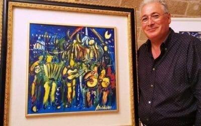 """Otranto. """"Clown"""" Mostra personale del Maestro Franco Baldassarre"""