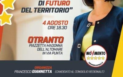"""""""Prospettive di Futuro del Territorio"""" con Antonella Laricchia e Francesco Giannetta"""