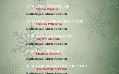 Otranto. RadioRegalo La programmazione del 28 dicembre 2020
