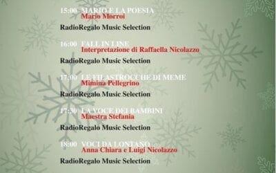 Otranto. RadioRegalo La programmazione del 29 dicembre 2020